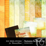 Autumn in the City Paper Pack-$3.99 (Fly Pixel Studio)
