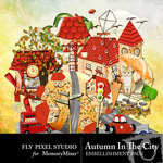 Autumn in the City Embellishment Pack-$2.99 (Fly Pixel Studio)
