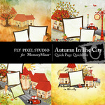 Autumn in the City Quick Page QuickMix-$3.49 (Fly Pixel Studio)