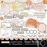 Inner Beauty Embellishment Pack-$2.99 (Karen Lewis)