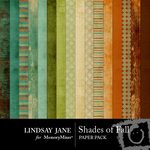 Shades of Fall Paper Pack-$3.99 (Lindsay Jane)