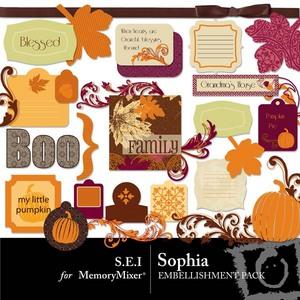 Sophia emb medium