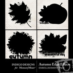 Autumn Edge Effects Embellishment Pack-$2.50 (Indigo Designs)