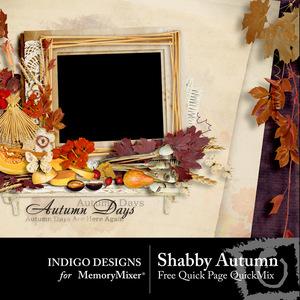 Shabby autumn free qp medium