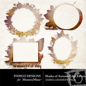 Shades of autumn edge effects emb medium