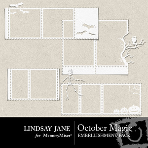 October magic stamp clusters medium