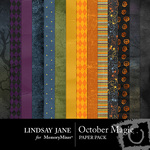 October Magic Paper Pack-$3.99 (Lindsay Jane)