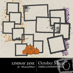 October Magic Frame Pack-$1.99 (Lindsay Jane)