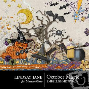 October magic emb medium