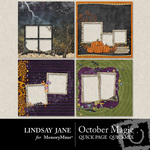 October Magic Quick Page QuickMix-$3.49 (Lindsay Jane)