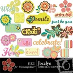 Jocelyn Embellishment Pack-$2.99 (s.e.i)