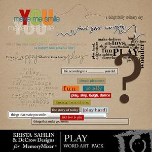 Play ks wordart medium