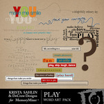 Play KS WordArt Pack-$2.49 (Krista Sahlin)