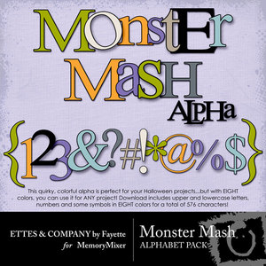 Monster mash alpha medium