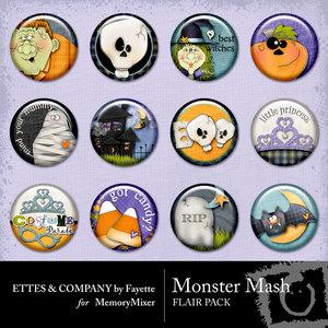 Monster mash flair medium