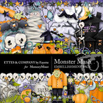 Monster Mash Embellishment Pack-$3.99 (Fayette Designs)