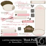 Think pink emb small