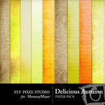 Delicious Autumn Paper Pack-$3.99 (Fly Pixel Studio)