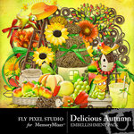 Delicious Autumn Embellishment Pack-$2.99 (Fly Pixel Studio)