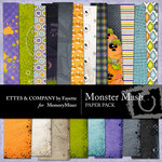 Monster Mash Paper Pack-$3.99 (Ettes and Company by Fayette)