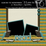 I Love to Read QuickMix-$2.99 (Albums to Remember)