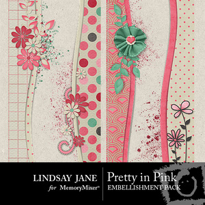 Pretty in pink borders medium