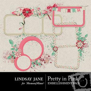 Pretty in pink frames medium