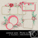 Pretty in Pink Frame Pack LJ-$1.99 (Lindsay Jane)