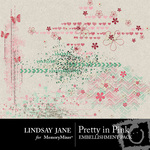 Pretty in Pink Scatterz Pack LJ-$1.99 (Lindsay Jane)
