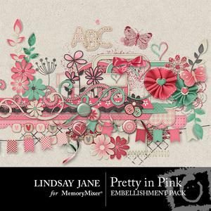 Pretty in pink emb medium