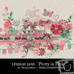 Pretty in Pink Embellishment Pack LJ-$3.99 (Lindsay Jane)