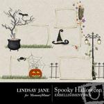 Spooky Halloween Frame Pack-$1.99 (Lindsay Jane)