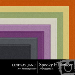 Spooky halloween embossed pp medium