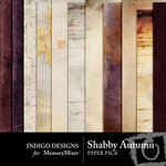 Shabby Autumn Paper Pack-$3.99 (Indigo Designs)