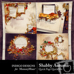 Shabby Autumn Quick Page QuickMix Vol 1-$2.99 (Indigo Designs)