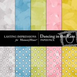 Dancing in the Rain Paper Pack-$1.75 (Lasting Impressions)