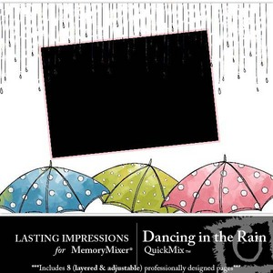 Dancing in the rain qm medium