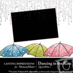 Dancing in the Rain QuickMix-$1.50 (Lasting Impressions)