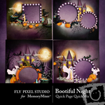 Bootiful Night Quick Page QuickMix-$2.99 (Fly Pixel Studio)
