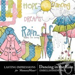 Dancing in the Rain Embellishment Pack-$1.00 (Lasting Impressions)
