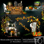Halloween Spell Cluster Pack-$1.99 (MagicalReality Designs)