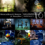 Halloween Spell Paper Pack 1-$3.99 (MagicalReality Designs)
