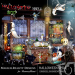 Halloween Spell Embellishment Pack-$2.99 (MagicalReality Designs)