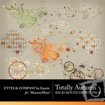 Totally Autumn Background Embellishment Pack-$1.99 (Ettes and Company by Fayette)