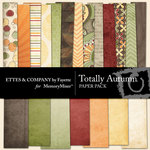 Totally Autumn Paper Pack-$3.99 (Ettes and Company by Fayette)