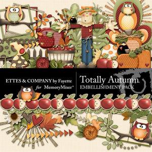 Totally autumn emb medium