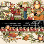Totally Autumn Embellishment Pack-$3.49 (Ettes and Company by Fayette)