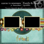 Family and Friends QuickMix-$2.99 (Albums to Remember)