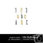Oh Halloween Alphabet Pack-$0.99 (Karen Lewis)