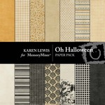 Oh Halloween Paper Pack-$3.99 (Karen Lewis)